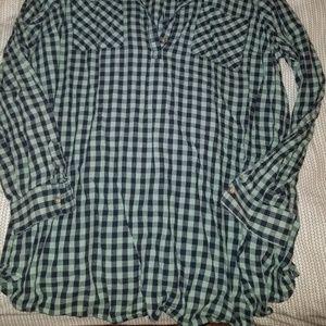 Liz Lange Tops - Never worn: long flannel top/dress